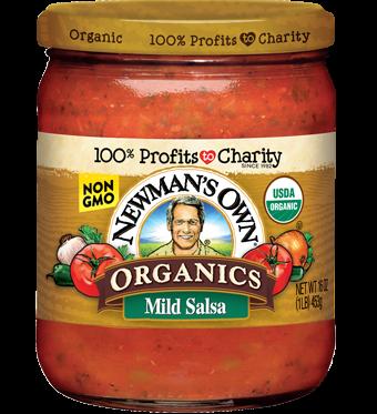 Sốt salsa vị nhẹ organic NewMasnOwn 454g