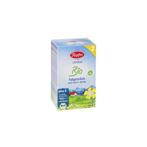 Sữa bột số 2 cho trẻ trên 6 tháng bio Topfer Lactana Đức 600g