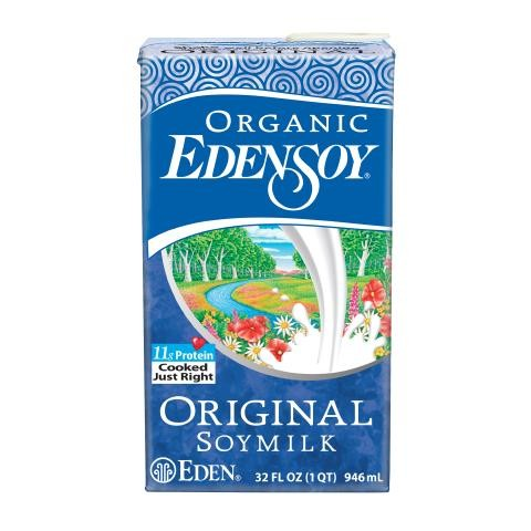 Sữa đậu nành original organic Eden 946ml