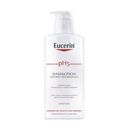 Sữa tắm dạng gel dành cho da nhạy cảm pH5 washlotion Eucerin 400ml