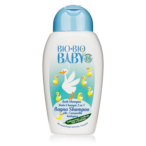 Sữa tắm gội hoa cúc cho trẻ sơ sinh organic Bio Baby 250ml