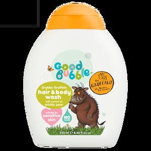 Sữa tắm gội thiên nhiên trẻ em chiết xuất lê gai Good Bubble 250ml