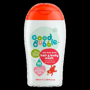 Sữa tắm gội thiên nhiên trẻ em chiết xuất thanh long Good Bubble 100ml