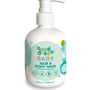 Natural hair & body wash with cucumber & aloe vera GoodBubble 250ml