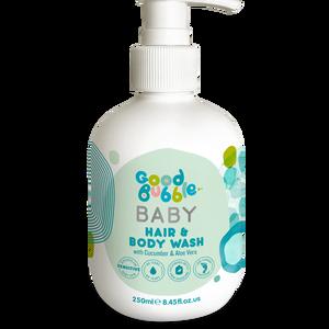 Sữa tắm gội thiên nhiên cho bé dưa leo & lô hội Good Bubble 250ml