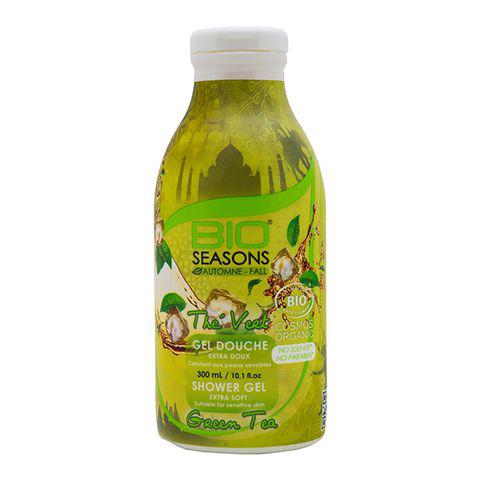 Sữa tắm organic hương trà xanh Bio Seasons 300ml