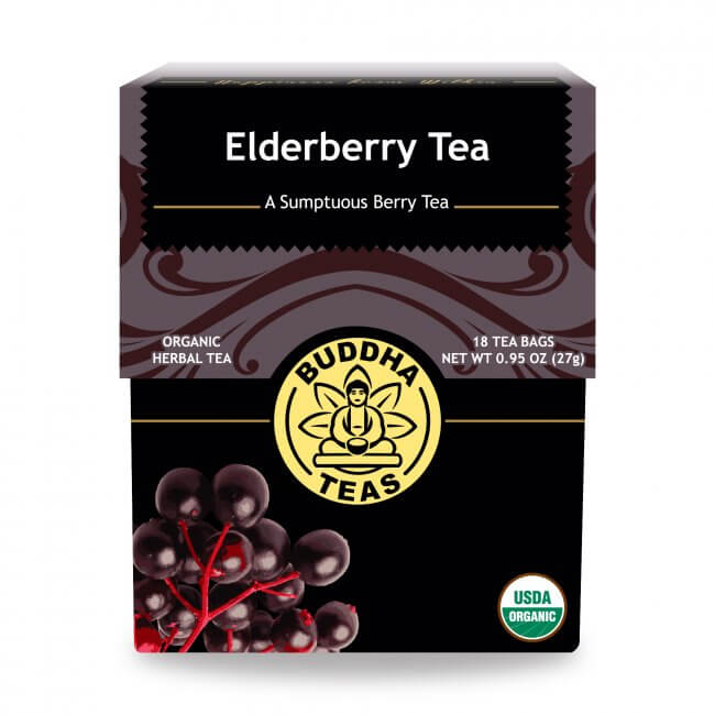 Organic elderberry tea Buddha Tea 27g/ 18bags