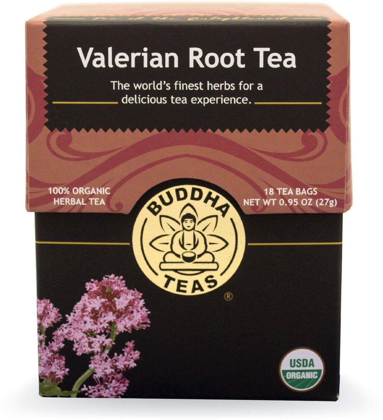 Trà cây nữ lang valerian organic Buddha Tea 27g/ 18 gói