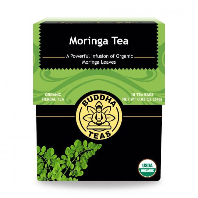 Trà chùm ngây organic Buddha Tea 24g/ 18 gói