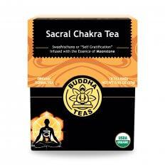 Trà luân xa sacral chakra organic BudhhaTeas 27g/ 18 gói