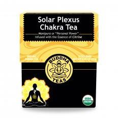 Trà luân xa Solar Plexus chakra organic BuddhaTeas 27g/ 18 gói