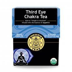Trà luân xa Third Eye chakra organic BuddhaTeas 36g/18 gói