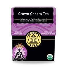 Organic 7th Crown chakra tea BuddhaTeas 27g/ 18 gói