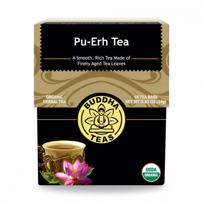 Trà Phổ Nhĩ organic Buddha Tea 24g/ 18 gói