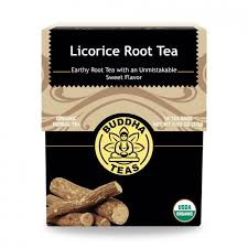 Organic licorice root BuddhaTeas 27g/18bags