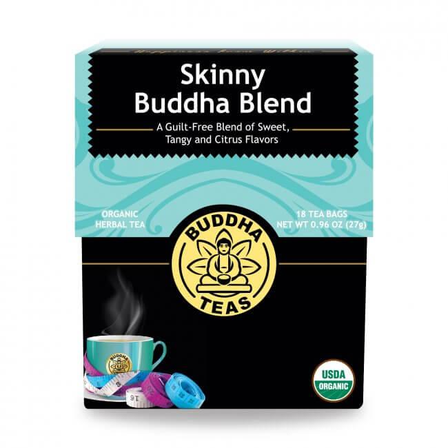 Trà trái cây thảo mộc hỗ trợ giảm cân skinny organic Buddha Tea 18g/ 18gói