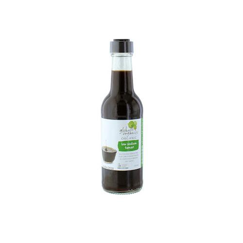 Tương tamari ít muối organic Global Organics 250ml