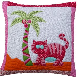 Cat cushion 40x40cm