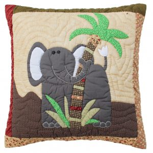 Elephant cushion 40x40cm